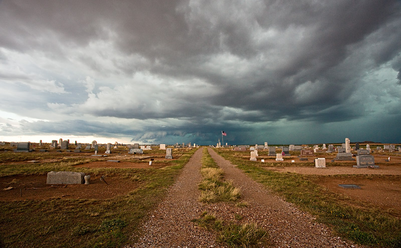 cemetary,Westbrook,Texas,storm