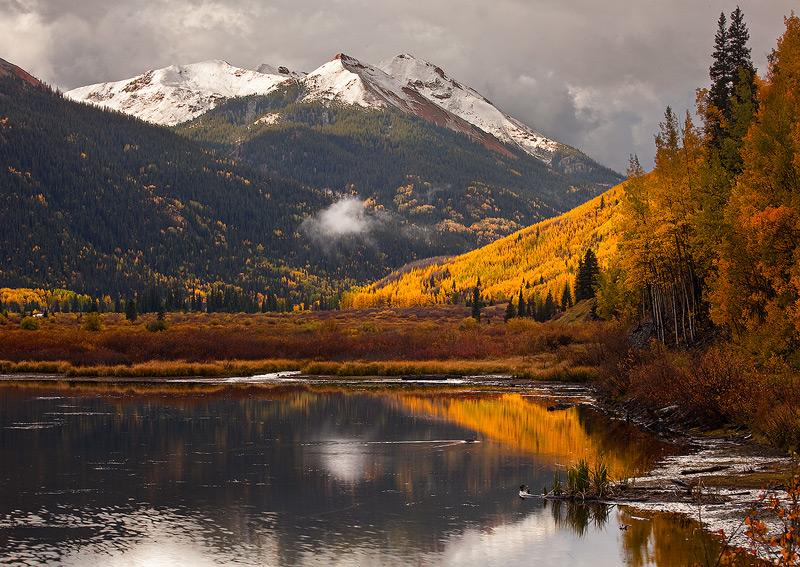 Crystal Lake,San Juan,Red Mountain,Colorado, photo