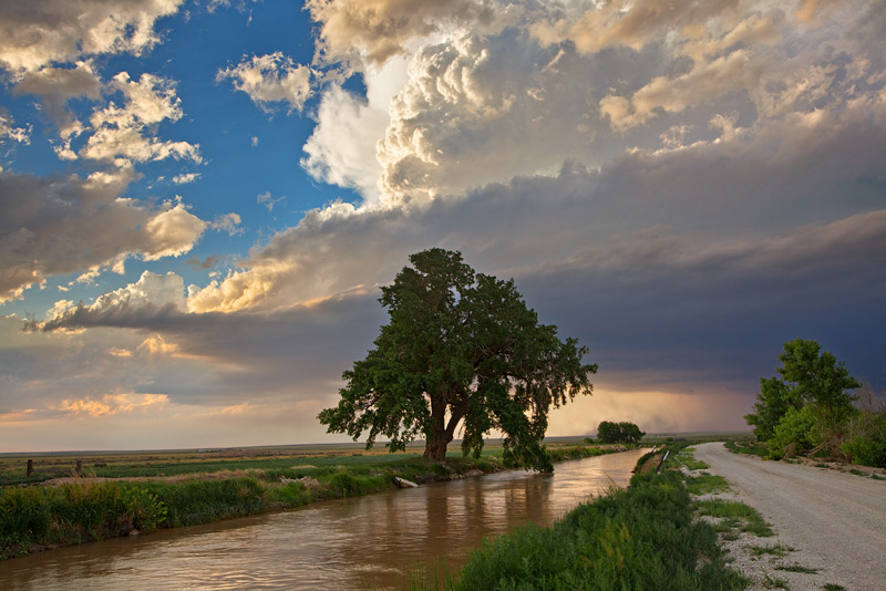 Arkansas River,supercell,thunderstorm