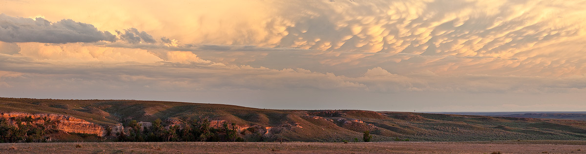 Clark County,Kansas,mammatus,sunset
