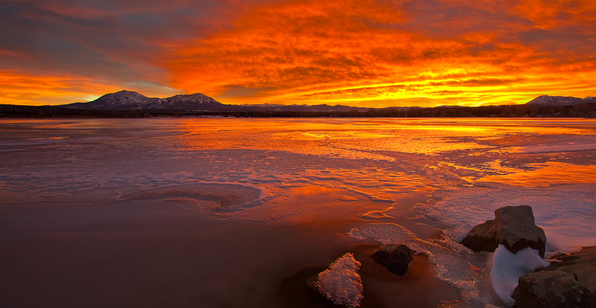 Lathrop,Colorado,sunset
