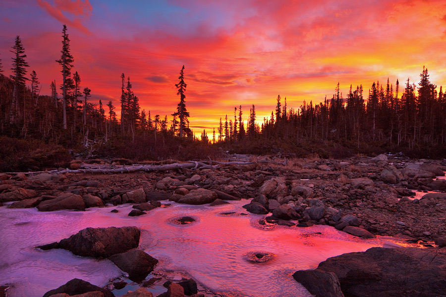 Two Rivers,Rocky Mountain National Park,Colorado,sunrise
