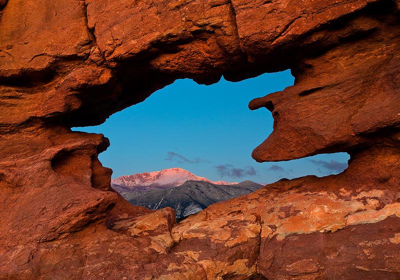 Garden of the Gods,Pikes Peak,Colorado, photo