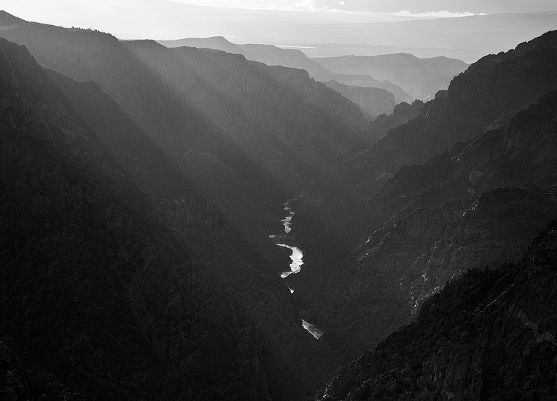 sunset,Black Canyon,Gunnison, photo