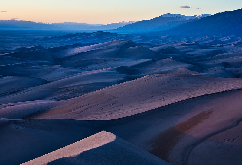 Star Dune,great sand dunes,colorado, photo