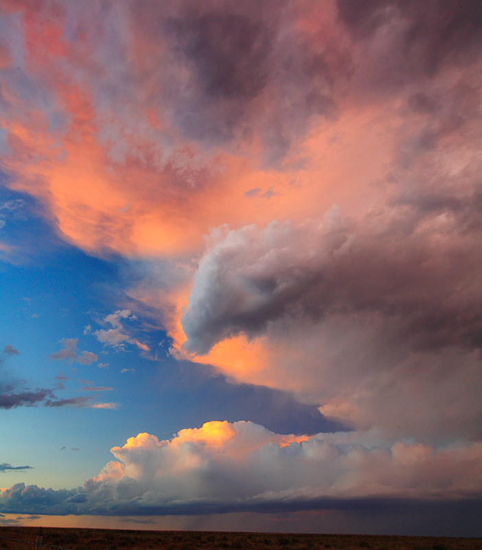 thunderstorm,sunset, photo