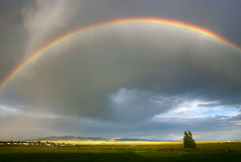 westcliffe,rainbow,Colorado, photo