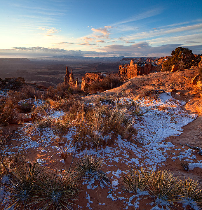 snow,Canyonlands, photo