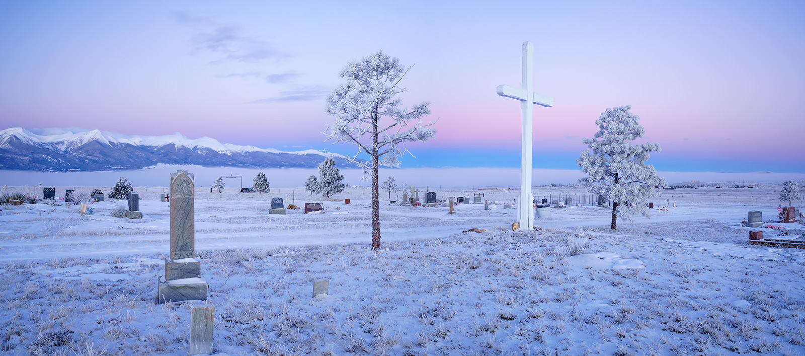 assumption cemetery, silver cliff, colorado, photo