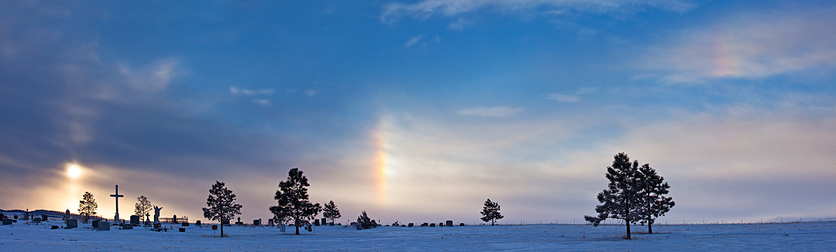 Silver Cliff,Colorado,halo,sun dog, photo
