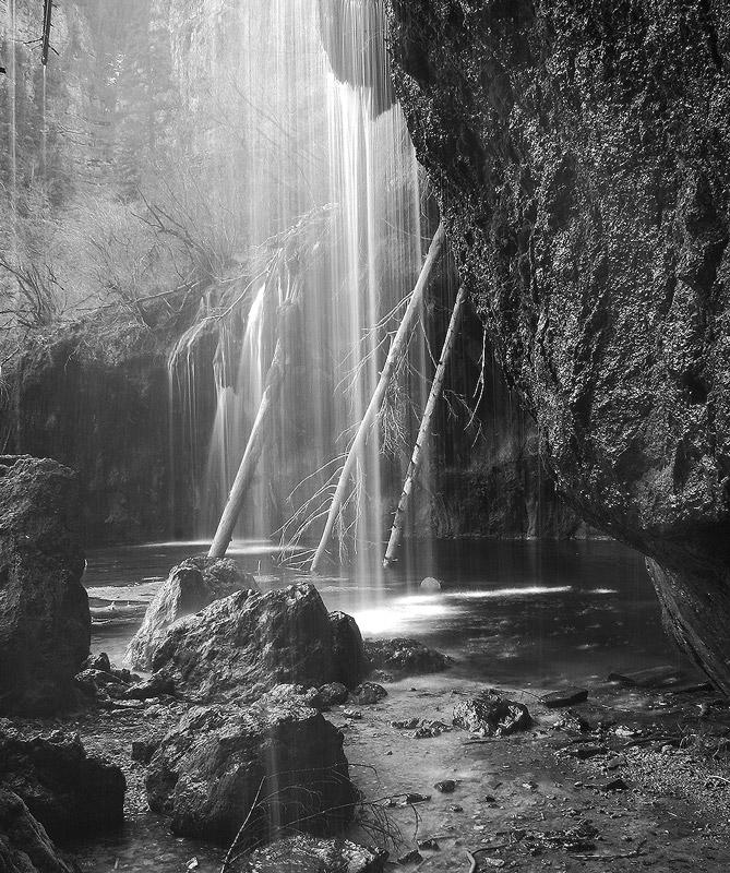 Hanging Lakes Waterfall