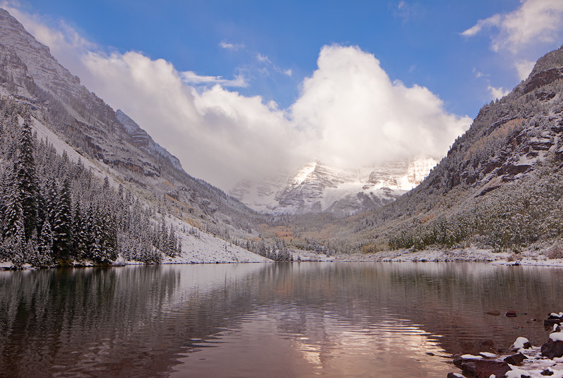 First day of Fall, 2013, Maroon Lake.