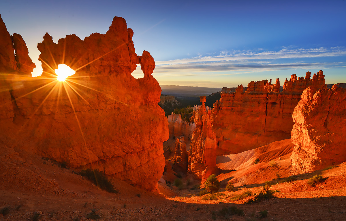 Bryce Canyon, Utah, Navajo Trail, sunrise, photo