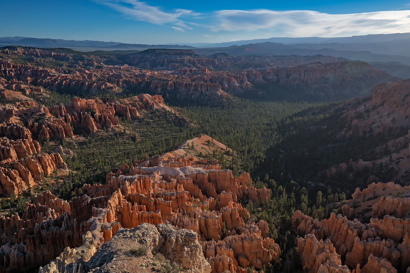 Inspiration Point, Utah, Bryce Canyon, morning, photo