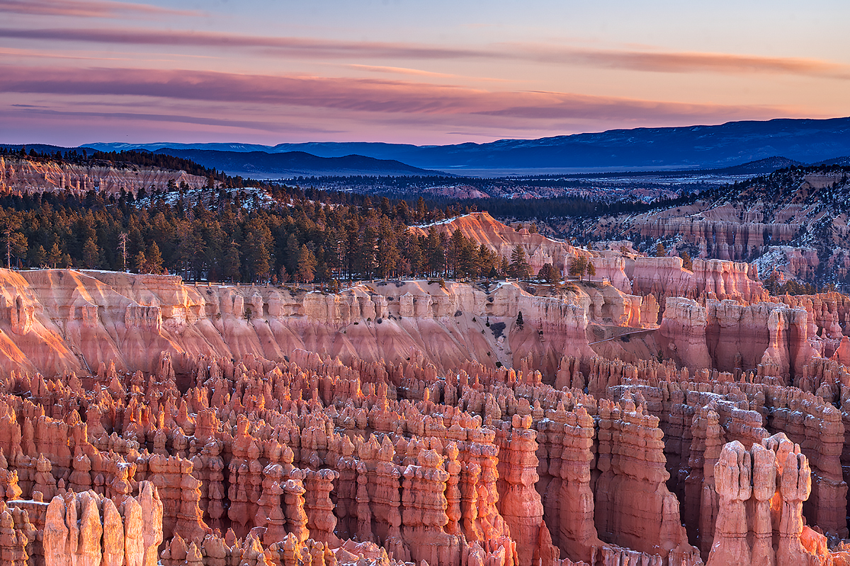 Bryce Canyon,Inspiration Point,sunset, photo