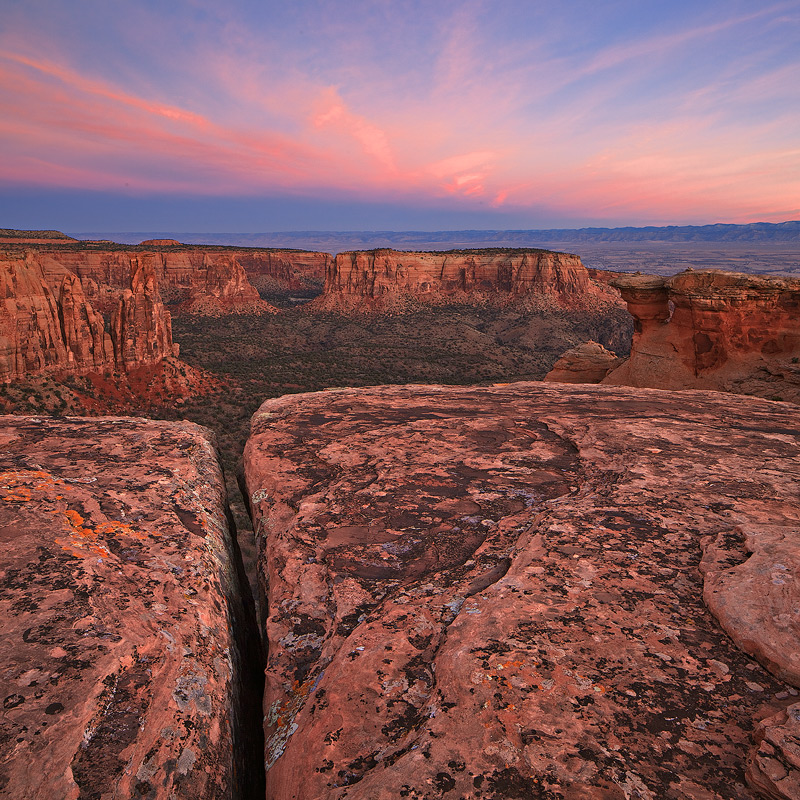 Colorado National Monument,sunrise, photo