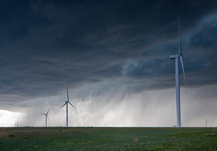 wind farm, photo