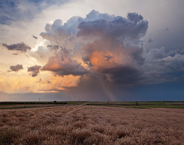 Colorado,thunderstorm,sunset, photo