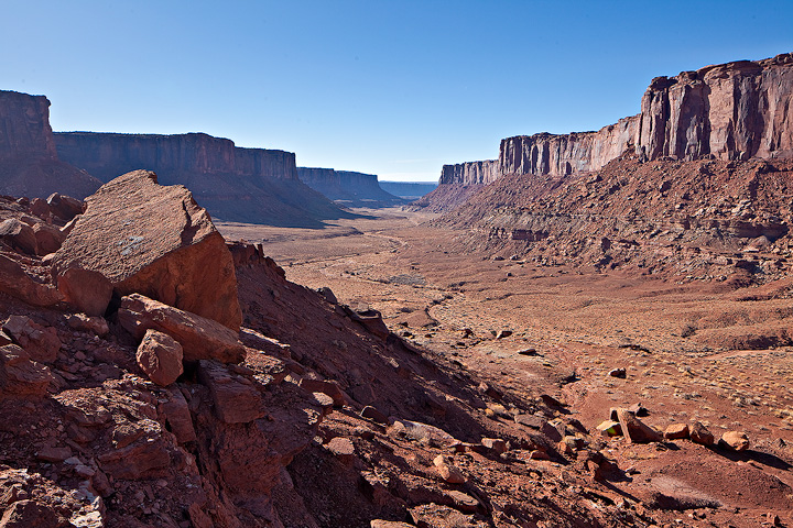 Taylor Canyon,Canyonlands, photo
