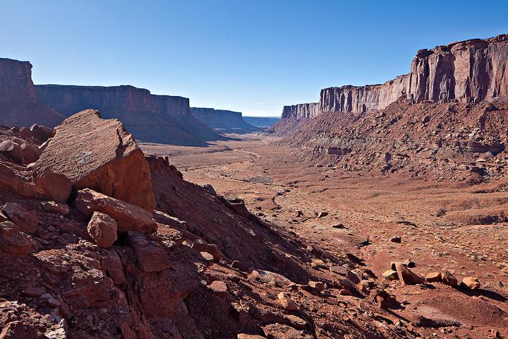 Taylor Canyon,Canyonlands, photo