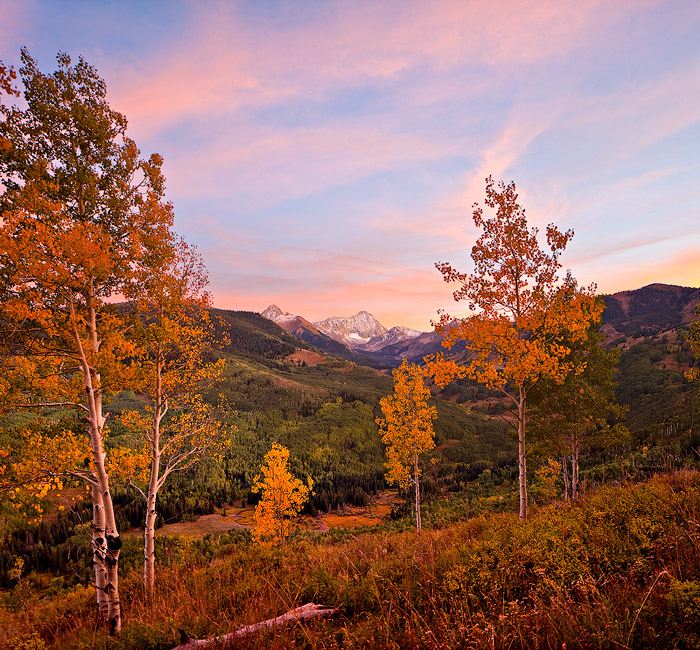 Capitol Peak,Snowmass,sunset,Colorado, photo