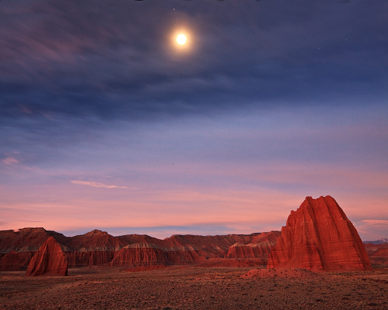 Cathedral Valley,Capitol Reef,Utah, photo