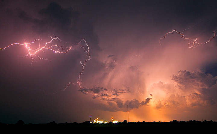 lighting,oklahoma,ponca city, photo