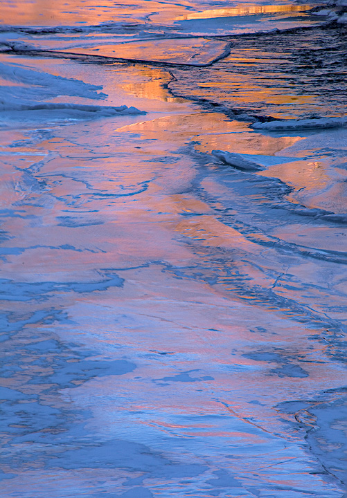 Arkansas RIver,Colorado,ice,water, photo