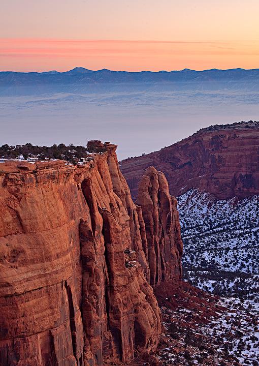Colorado National Monument,sunrise, photo
