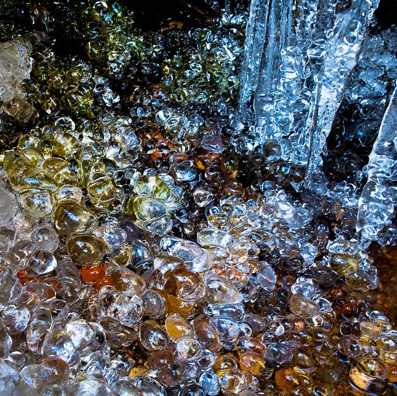 ice,falls,pebbles, photo