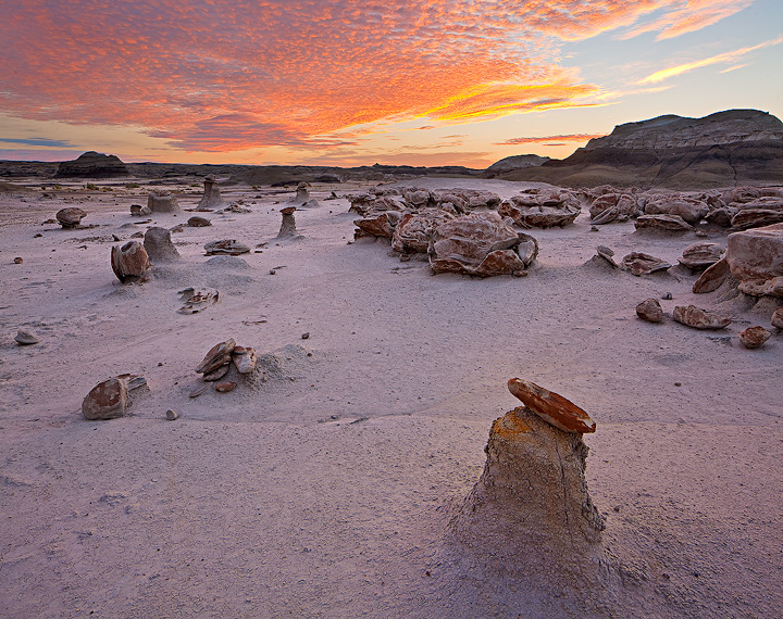 Bisti Badlands,sunrise,formations,new mexico, photo