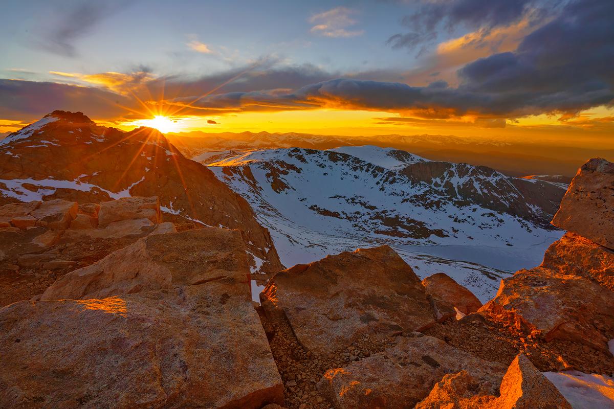 Mount Evans, Colorado, photo