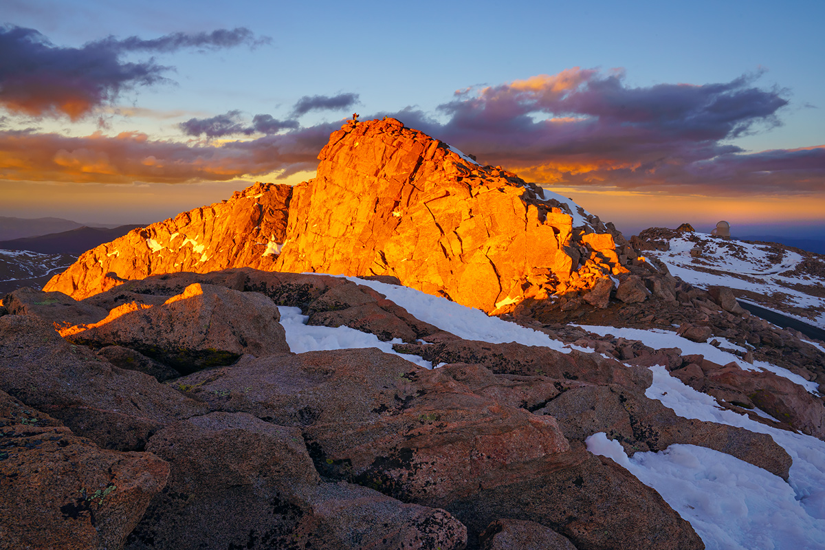 Mount Evans, Colorado, summit, photo