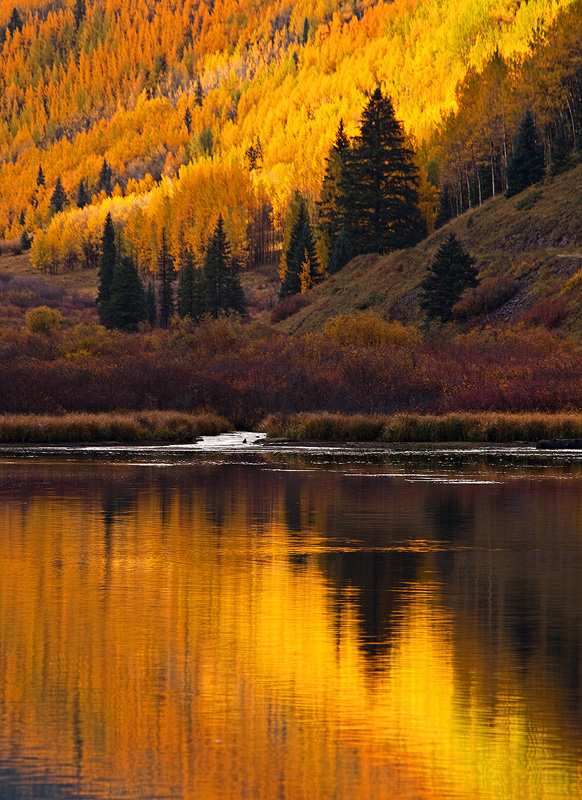 San Juan,Red Mountain,Colorado,reflection, photo