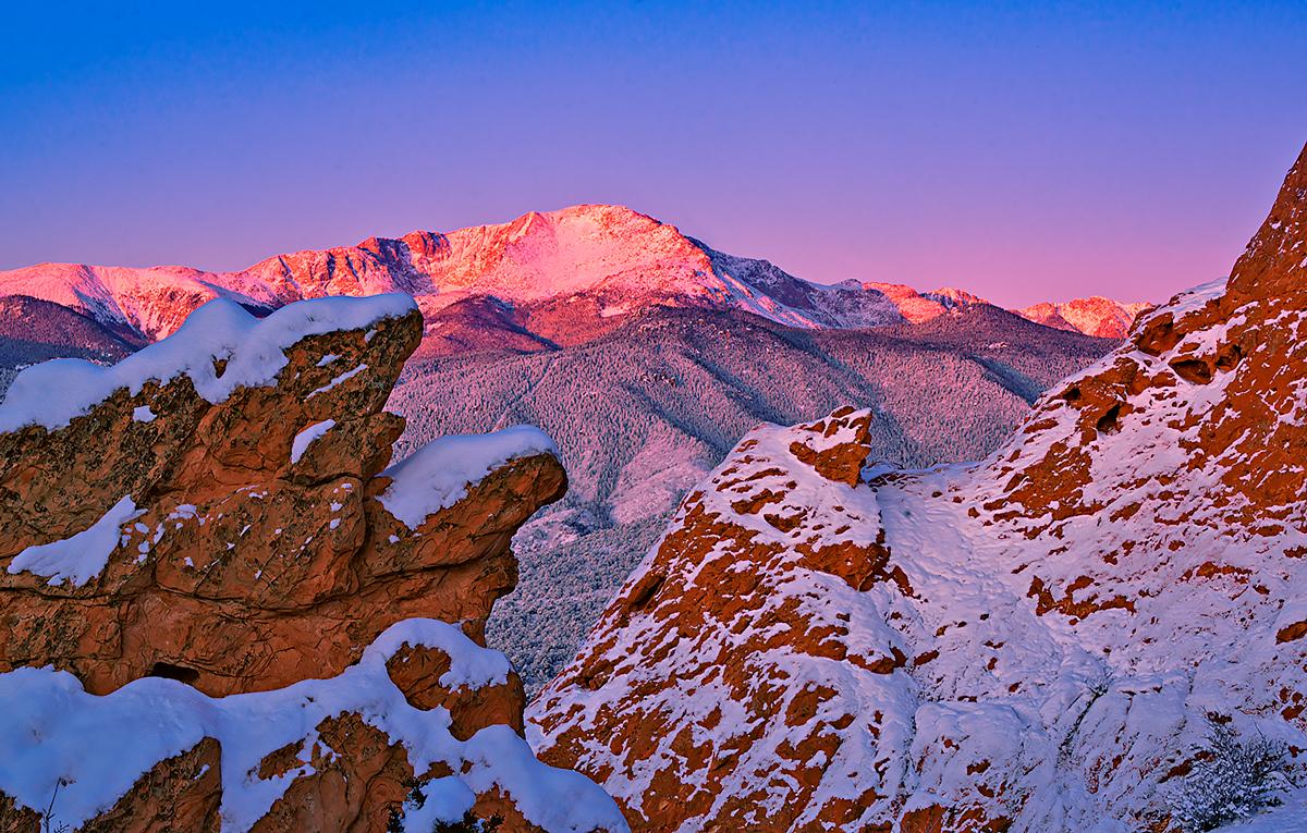 Pikes Peak,Garden of the Gods, photo