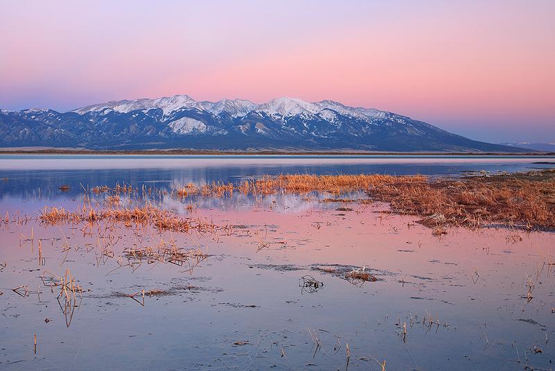 San Luis,lakes,sunset,Sangre, photo