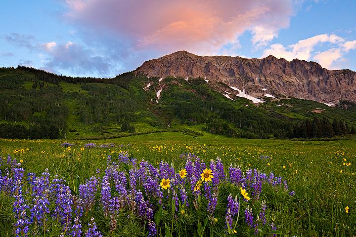 Gothic Mountain,Colorado, photo