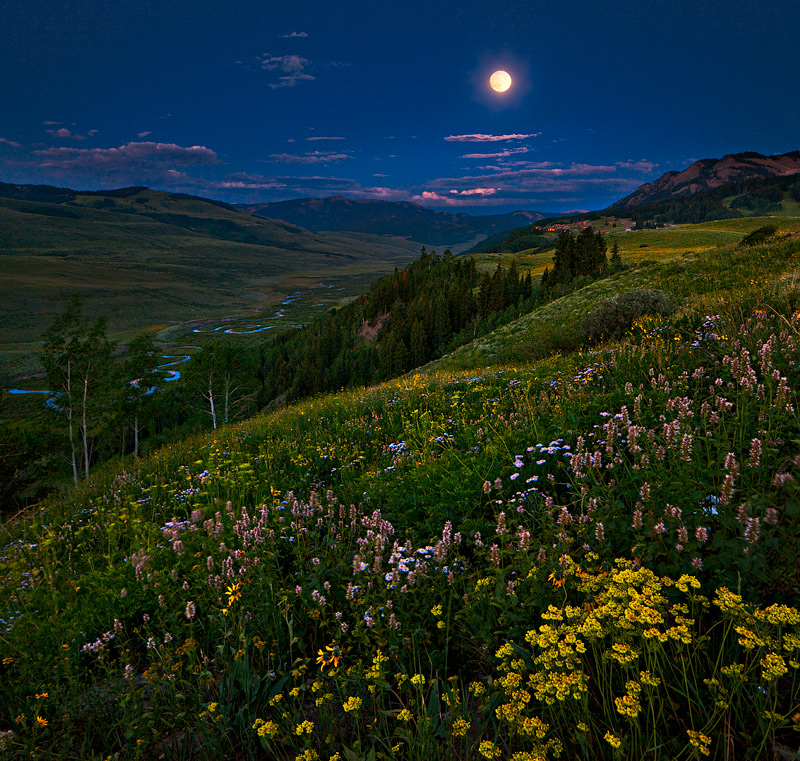 moon,Crested Butte,Colorado, photo