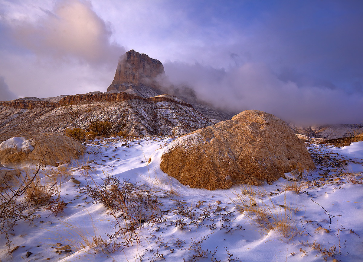 El Capitan,Guadalupe Mountains,Texas, photo