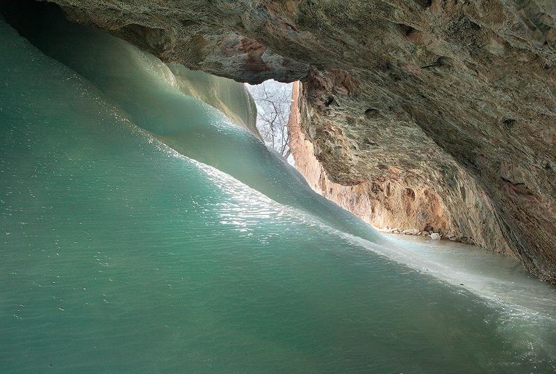 cave,ice, photo