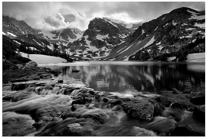 Lake Isabelle,Indian Peaks,Colorado, photo