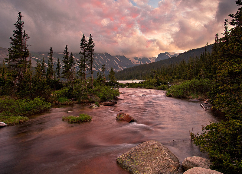 Indian Peaks,Long Lake,Colorado, photo