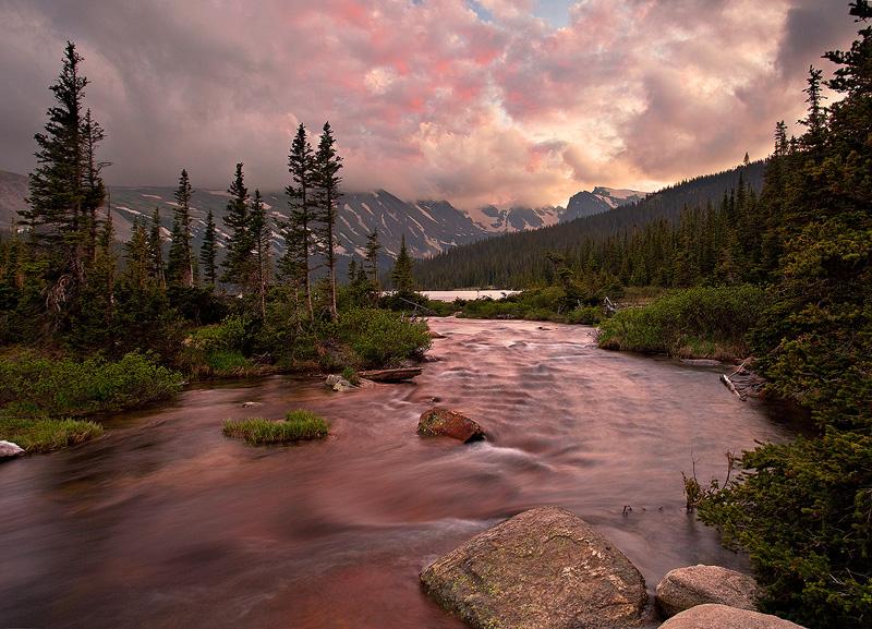 Indian Peaks,Long Lake,Colorado, photo