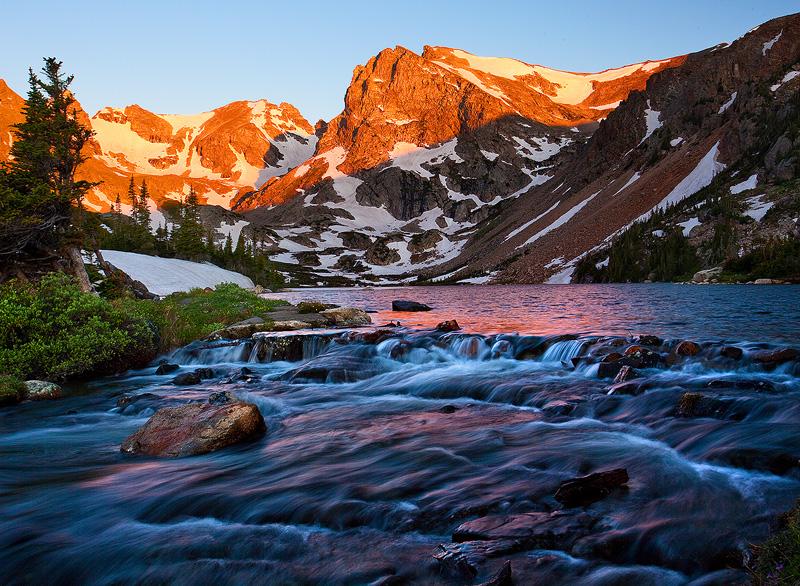 Indian Peaks,Lake Isabelle, photo