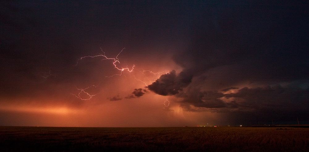 Kansas,storm,sunset, photo