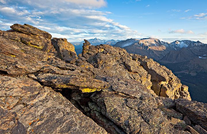 Rock Cut,Trail Ridge,Rocky Mountain,Colorado, photo