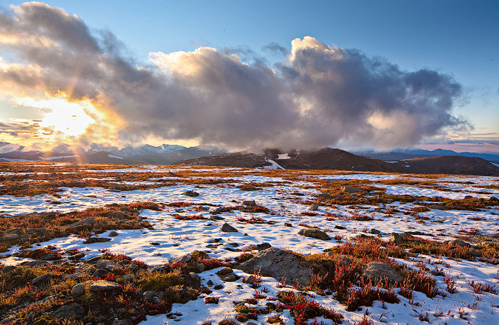 storm,tundra,rocky mountain,colorado, photo