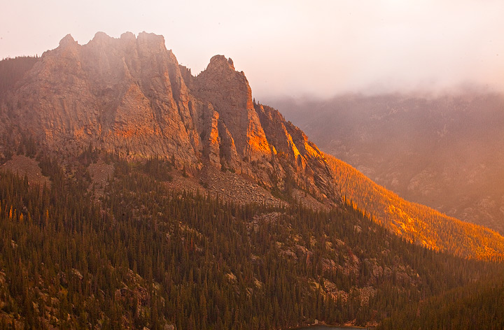peaks,glow,sunrise,rocky mountain,colorado, photo