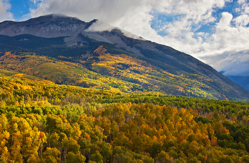 Kebler Pass, fall, photo