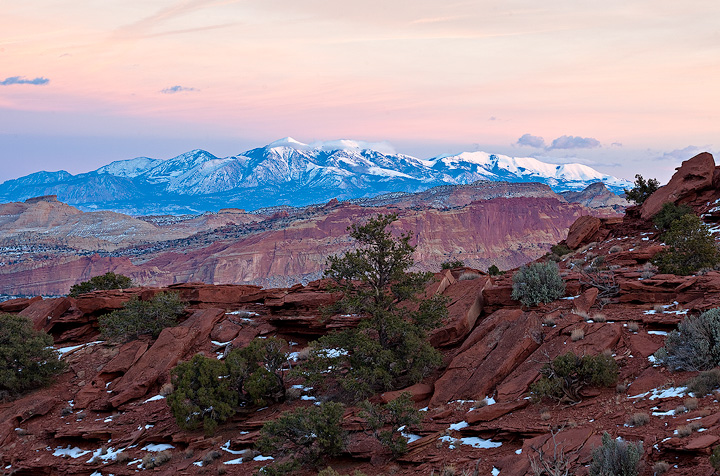 Henry Mountains,Capitol Reef,Panorama Point,Utah, photo
